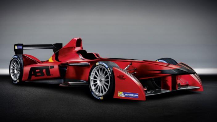 Formel E-Rennauto von Abt Sportsline