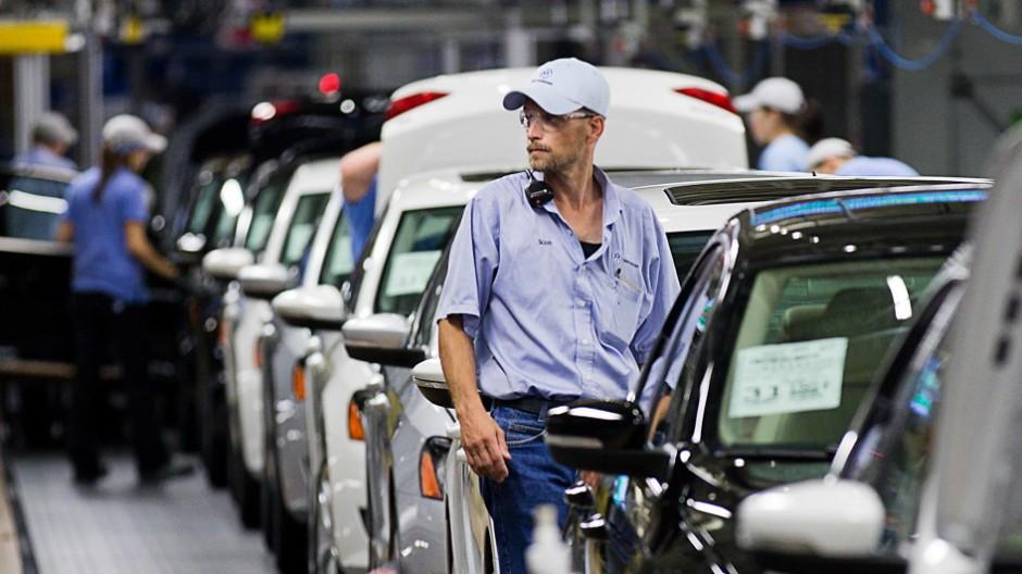 Volkswagen-Konzern VW-Werk in Chattanooga