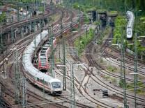 Gleise am Hauptbahnhof in Stuttgart