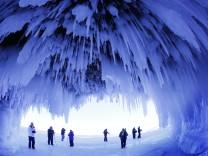 Eis am Lake Superior