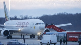 Ethiopian Airlines plane en route from Addis Ababa to Rome hijack