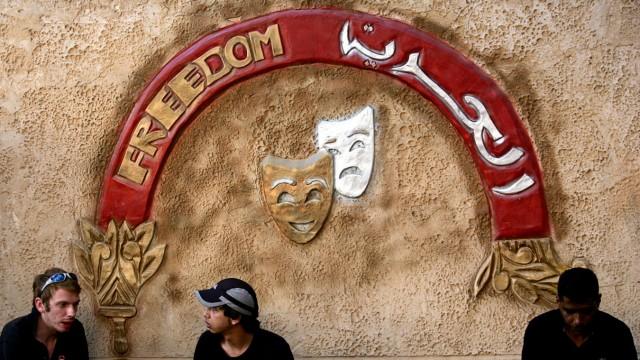 Nahostkonflikt Theater im Westjordanland