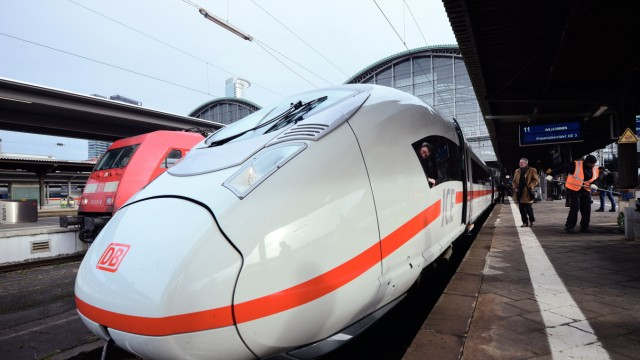 Deutsche Bahn Introduces Latest ICE 3 High-Speed Train Generation