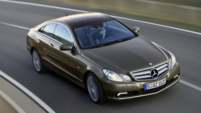 Ein Mercedes-Benz E 350 CDI