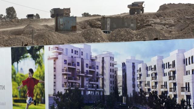 Israelische Siedlung Har Homa