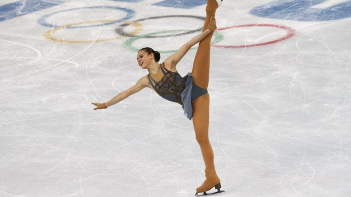 Russia's Adelina Sotnikova competes during the Figure Skating Women's free skating Program at the Sochi 2014 Winter Olympics