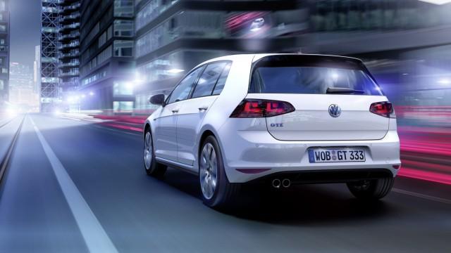 Der neue VW Golf GTE.