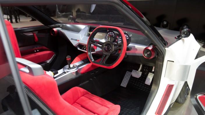 Der Innenraum des Nissan IDx Nismo.