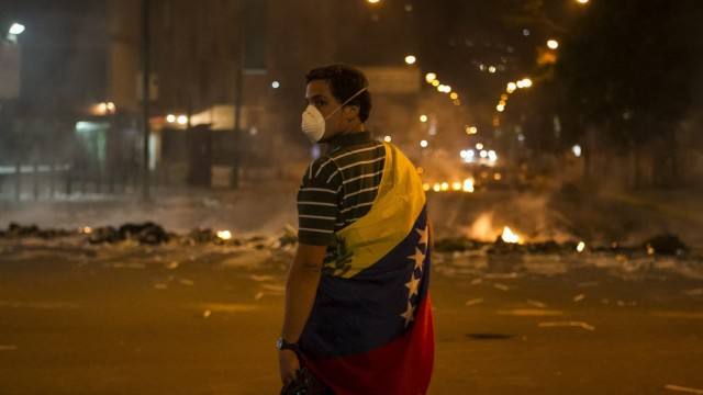 PROTEST AGAINST VENEZUELAN GOVERNMENT