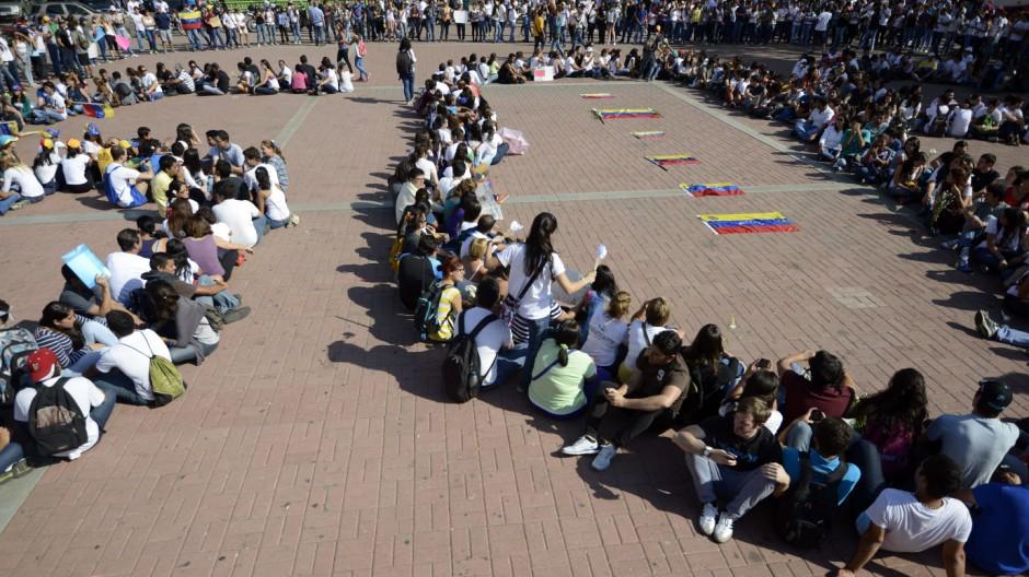 Politik in Venezuela Proteste in Venezuela