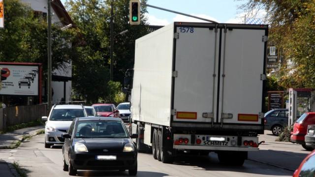 Durchgangsverkehr in Weßling