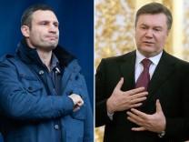 Janukowitsch zu Fernsehdebatte mit Klitschko bereit