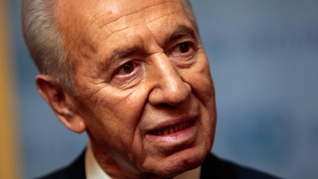 Shimon Peres And Ban Ki-Moon Holds Talks At U.N.
