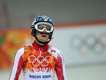 Skirennfahrerin Maria Höfl-Riesch