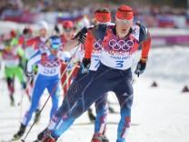 Skiläufer Alexander Legkow