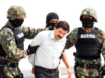 Drug lord Chapo Guzman captured