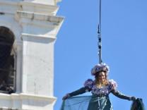 Karneval Venedig Kostüm Maske Engelsflug