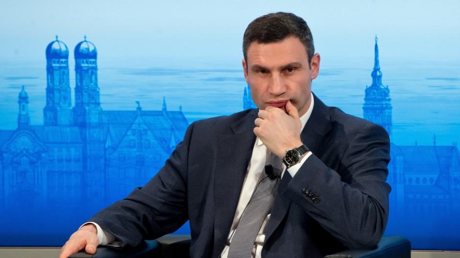 Vitali Klitschko auf der Sicherheitskonferenz in München