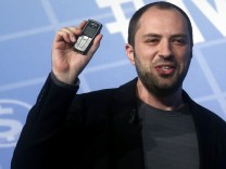 Whatsapp-Chef Jan Koum auf dem Mobile World Congress in Barcelona