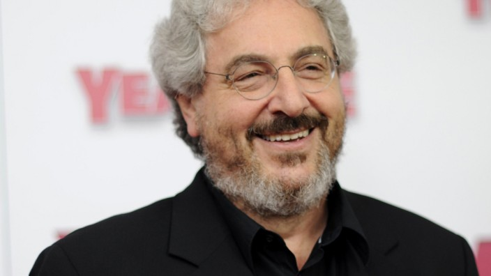 Actor/director Harold Ramis arrives for the premiere of 'Year One' in New York
