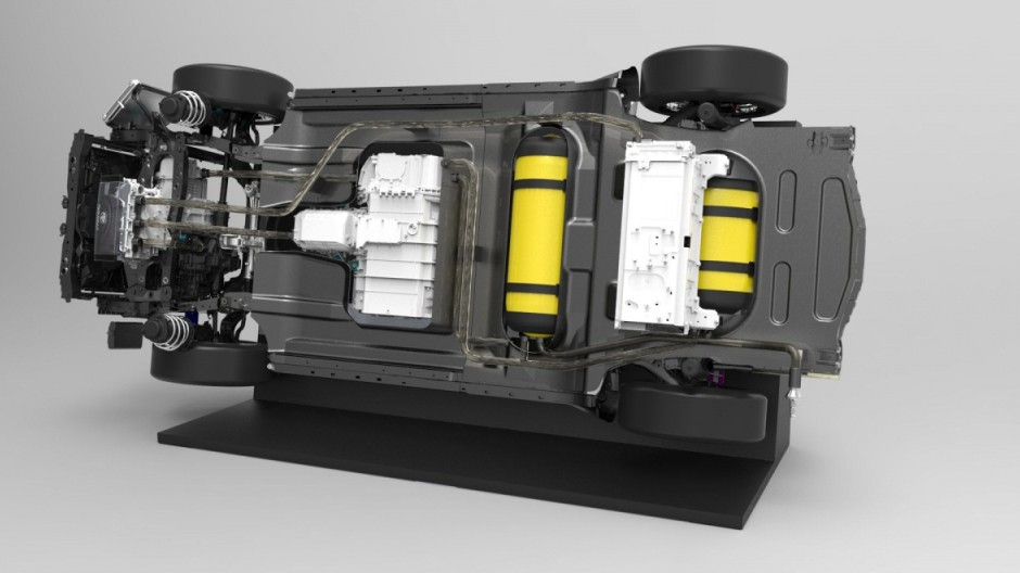 Mr. Hybrid macht in Brennstoffzelle