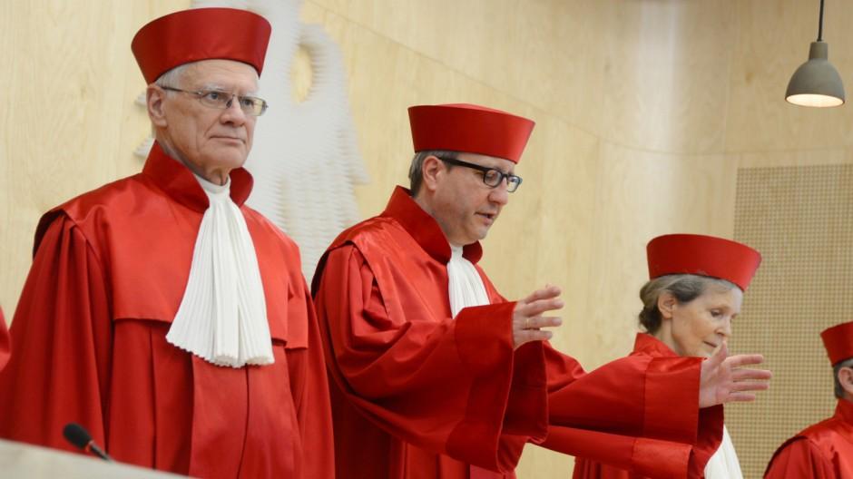 Bundesverfassungsgericht verhandelt über Äußerungsbefugnisse