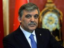 Abdullah Gül, Türkei