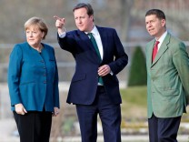 Angela Merkel, David Cameron