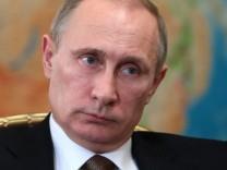 Russland Präsident Wladimir Putin Ukraine