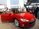 Elektro-Auto-Hersteller Tesla Elon Musk baut Batterie-Akku-Gigafabrik