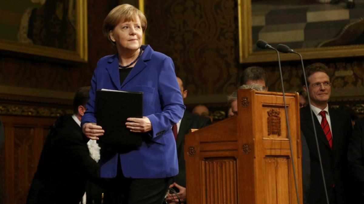Merkels Vorlesung in Europa-Realismus