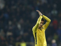 Kloze of Lazio applauds after their Europa League soccer match against Ludogorets at Vasil Levski stadium in Sofia