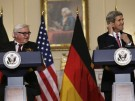 Frank-Walter Steinmeier und John Kerry in Washington