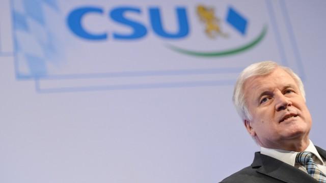 Kleiner Parteitag der CSU in Bamberg