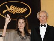 Regisseur Clint Eastwood mit seiner Hauptdarstellerin Angelina Jolie in Cannes.