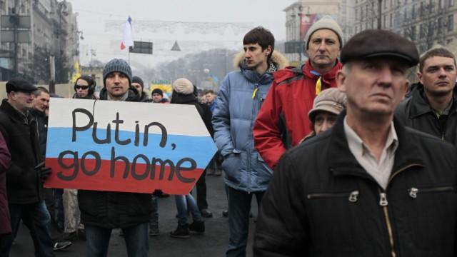 Umbruch in der Ukraine Russland und Ukraine
