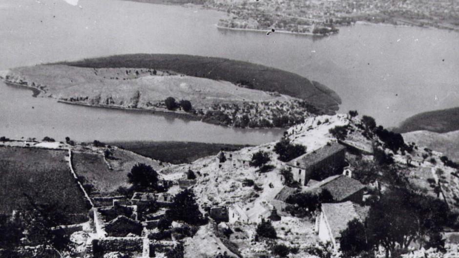 Ort eines bestialischen Massakers: Lyngiádes 1947. Wehrmacht Gebirgsjäger Griechenland Epirus