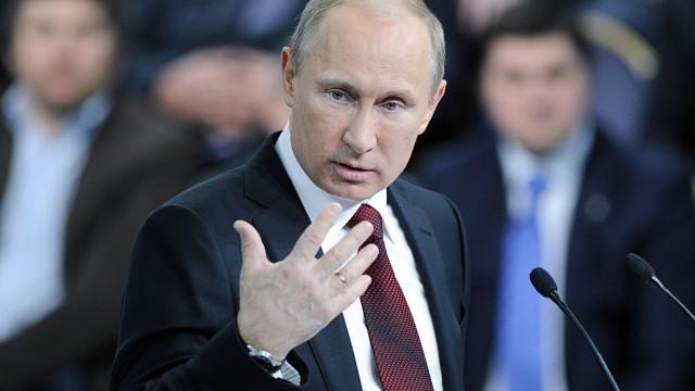 Umbruch in der Ukraine Putin in der Krim-Krise