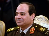 Ägyptens Armeechef Al-Sisi will bei der Präsidentschaftswahl antreten.