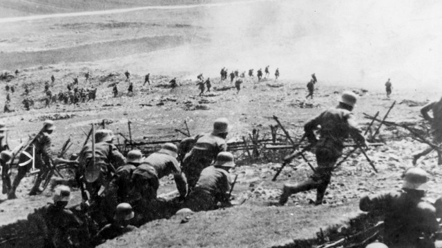 Sturmangriff am Isonzo, 1916