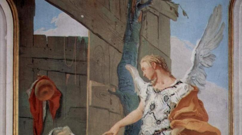 """Giovanni Battista Tiepolo Giambattista """"Der Engel erscheint Sarah"""""""