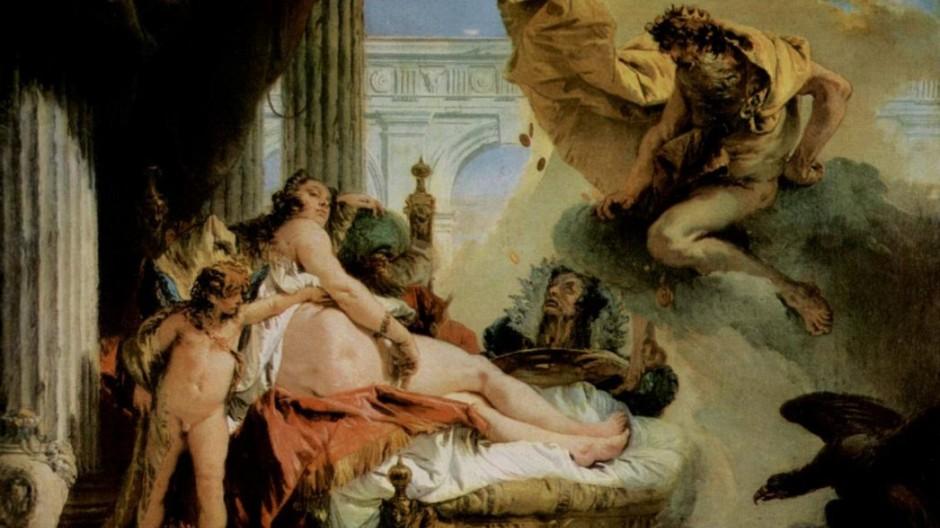 """Giambattista Tiepolo """"Jupiter und Danae"""""""
