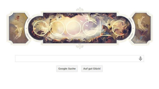 Giambattista Tiepolo, Google Doodle