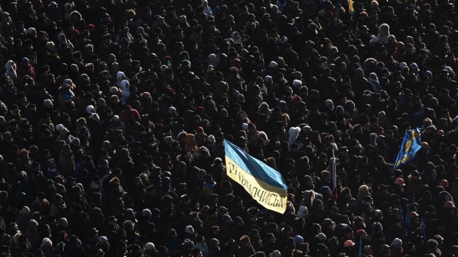 Mein Europa Ukrainer über Maidan-Protest