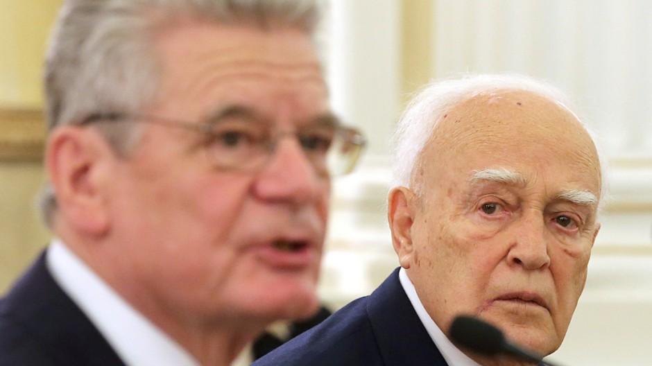 Bundespräsident Gauck in Griechenland