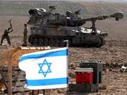 Israelische Soldaten an der Grenze zum Gaza-Streifen, dpa