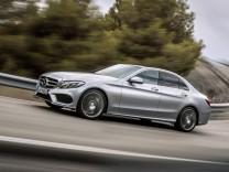 Die neue Mercedes C-Klasse W205.