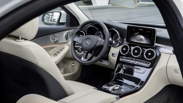 Der Innenraum der neuen Mercedes C-Klasse W205.
