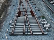 Neue Schienen am Ostkreuz