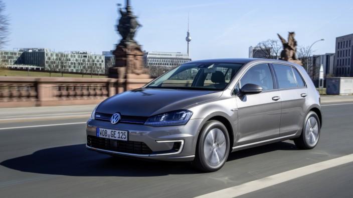 Der neue VW E-Golf.